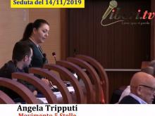 Angela Tripputi (M5S) - Seduta del Consiglio Municipale Roma VII del 14/11/2019