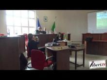 La Sala del Consiglio Comunale di Miglierina (Cz)