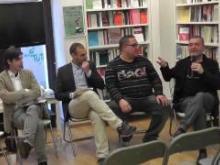 Un momento della presentazione presso la libreria Ubik di Cosenza