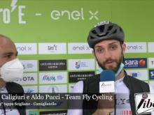 Luca Caligiuri e Aldo Pucci, Team Fly Cycling - Giro E 4° Tappa: Scigliano - Camigliatello
