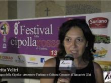 8° Festival della cipolla - Intervista a Concetta Veltri - Campora San Giovanni, Amantea (Cs)
