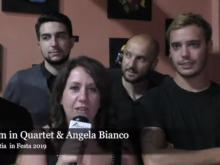 Intervista ad Angela Bianco & Castrum in Quartet - Vibo Valentia in Festa 2019