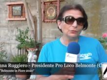 """Concorso """"Belmonte in Fiore 2020"""" - Intervista a Giovanna Ruggiero"""