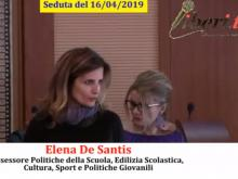 Elena De Santis - Seduta del Consiglio Municipale Roma VII del 16/04/2019