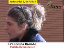 Francesca Biondo (PD) - Seduta del Consiglio Municipale Roma VII del 2/05/2019