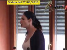 Valeria Vitrotti - Seduta del Consiglio Municipale Roma VII del 27/06/2019