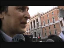 Anniversario dei Patti Lateranensi - Presidio davanti l'Ambasciata d'Italia presso la Santa Sede 16.02.12