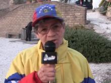 Blanca Briceño - XII Marcia internazionale per la Libertà di minoranze e popoli oppressi