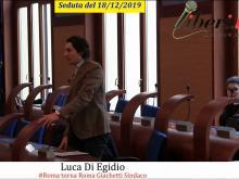 Luca Di Egidio (#Roma torna Roma Giachetti Sindaco) - Seduta del Consiglio Municipale Roma VII del 18/12/2019