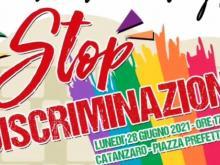 Invito a #catanzaronondiscrimina 28 giugno 2021