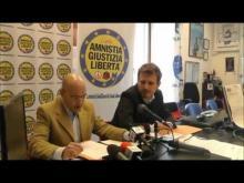 Conferenza stampa Giuseppe Rossodivita e Rocco Berardo - Presentazion Lista Amnistia Giustizia Libertà Elezioni 2013 Regione Lazio