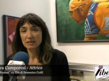 """Monica Camporesi - Attrice nel film """"Il Caso Pantani"""" di Domenico Ciolfi"""