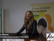 Assemblea Regionale Coordinamento Donne CISL Calabria - Intervento di Nausica Sbarra