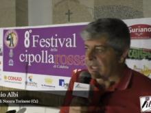 8° Festival della cipolla - Intervista ad Antonio Albi - Campora San Giovanni, Amantea (Cs)