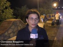Intervista a Giovanna Ruggiero - 45° Sagra della Pasta a Belmonte Calabro (Cs)