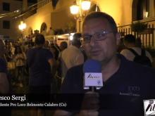 Intervista a Francesco Sergi - 45° Sagra della Pasta a Belmonte Calabro (Cs)