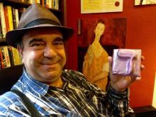 Giancarlo Calciolari intervista l'artista Gabriele Levy
