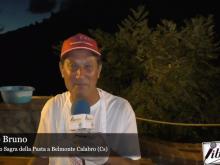 Intervista a Franco Bruno - 45° Sagra della Pasta a Belmonte Calabro (Cs)