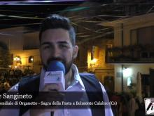 Intervista a Carmine Sangineto - 45° Sagra della Pasta a Belmonte Calabro (Cs)