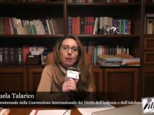 Intervista a Emanuela Talarico - 30° UNICEF