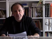 """Giancarlo Calciolari - """"Chi è veramente vivo"""""""