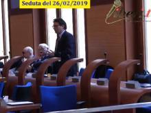 Antonio Ciancio (Gruppo misto) - Seduta del Consiglio Municipale Roma VII del 26/02/2019