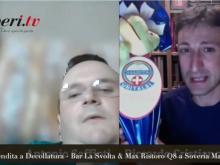 Antonio Saffioti e Riccardo Cristiano - Spot di Liberi.tv per  le Uova Pasquali dell'UNITALSI