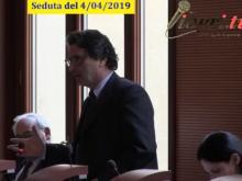Antonio Ciancio (Gruppo misto) - Seduta del Consiglio Municipale Roma VII del 4/04/2019