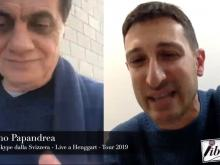 Intervista al Maestro Cosimo Papandrea - Collegamento dalla Svizzera