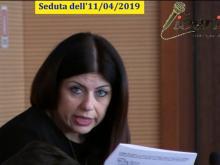 Maria Cristina Ariano (M5S) - Seduta del Consiglio Municipale Roma VII del 11/04/2019