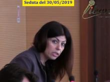 Maria Cristina Ariano (M5S) - Seduta del Consiglio Municipale Roma VII del 30/05/2019