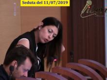 Maria Cristina Ariano (M5S) - Seduta del Consiglio Municipale Roma VII dell'11/07/2019