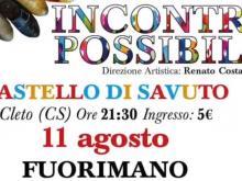 Anteprima Incontri Possibili 11 Agosto 2019 - Fedele Montuoro & Renato Costabile