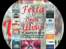 Ringraziamenti Sponsor Festa degli Ulivi 2019 - Marina di Savuto - Cleto (Cs)