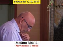 Stefano Rinaldi (M5S) - Seduta del Consiglio Municipale Roma VII del 3/10/2019