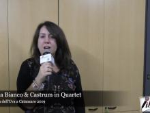 Intervista ad Angela Bianco & Castrum in Quartet - 89° Festa dell'Uva a Catanzaro 2019