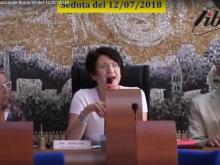 Claudia De Chiara - Seduta del Consiglio Municipale Roma VII del 12/07/2018