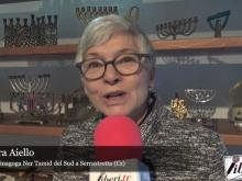 Intervista alla Rabbina Barbara Aiello - Celebrazione Hanukah a Serrastretta