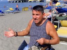 Roberto: - Come faccio ad arrivare al mare ?