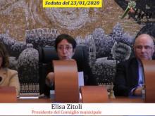 Elisa Zitoli - Seduta del Consiglio Municipale Roma VII del 23/01/2020
