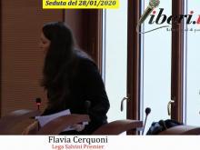 Flavia Cerquini (Lega - Salvini Premier) - Seduta del Consiglio Municipale Roma VII del 28/01/2020