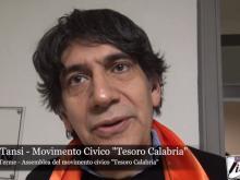 Intervista a Carlo Tansi - Movimento Tesoro Calabria