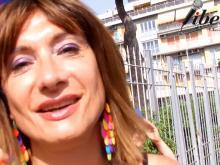 Vladimir Luxuria - 1° Lazio Pride - Ostia 14 luglio 2018