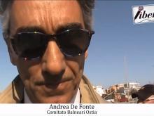 Andrea De Fonte (Comitato Balneari Ostia) - Demolizione ex Arca