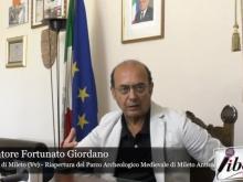 Parco Archeologico Medievale di Mileto Antica Intervista al Sindaco Salvatore Fortunato Giordano