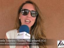 Emanuela Talarico, nuovo Sindaco di Carlopoli - Proclamazione e intervista