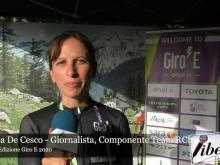 Intervista ad Andrea De Cesco - Giro E 2020