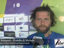 Marco Scarponi, fratello di Michele - Giro E 2020