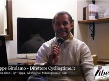 Giuseppe Girolamo - Giro d'Italia 2020 - 19° Tappa: Morbegno - Asti