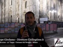 Giuseppe Girolamo - Giro d'Italia 2020 -  21° Tappa: Cernusco sul Naviglio